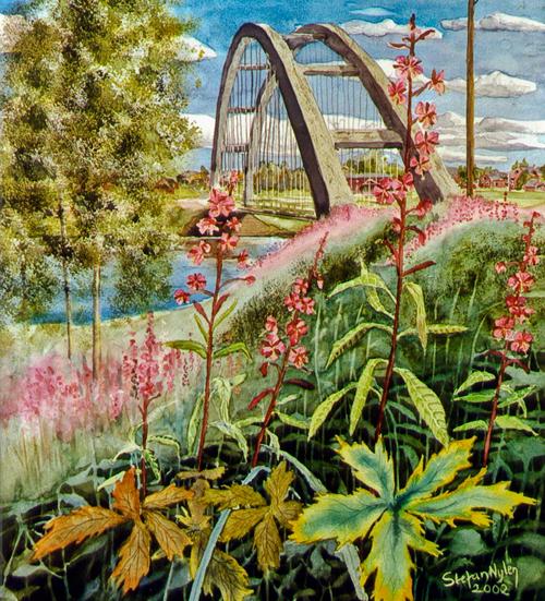 Bågbron i Tärendö