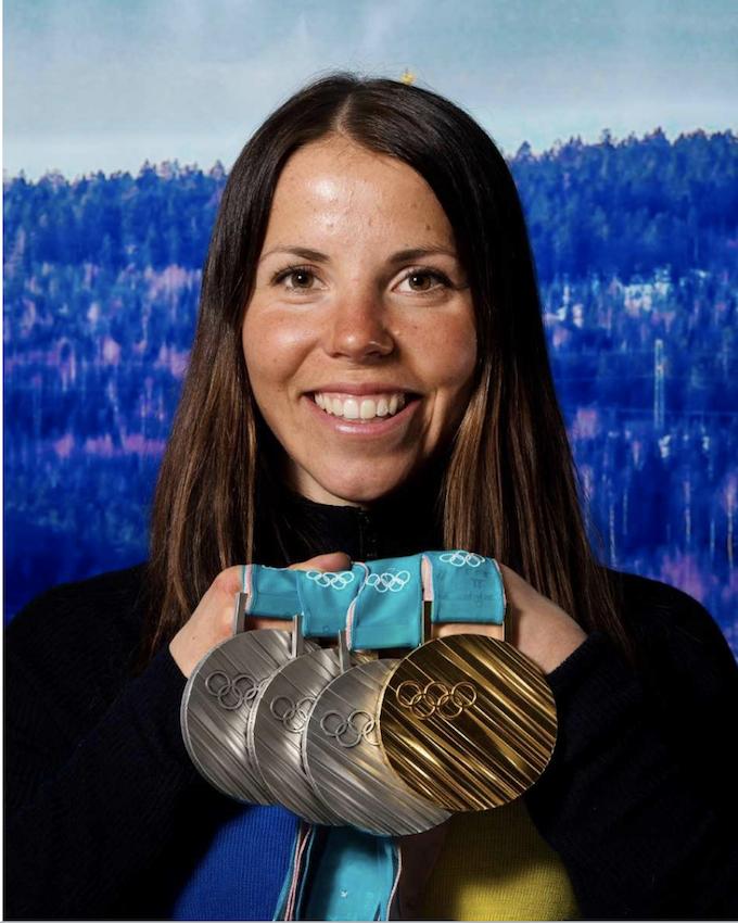 Charlotte Kalla. Foto: Nils Jakobsson/Bildbyrån