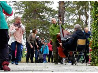Midsommar, Tärendöholmen 2017. Foto: Anette Lundström