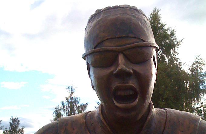 Staty av Charlotte Kalla